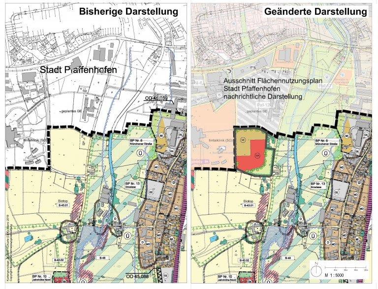 7. Flächennutzungsplan Hettenshausen Plan